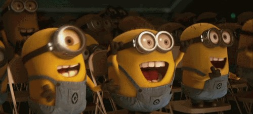 excited minion power :)